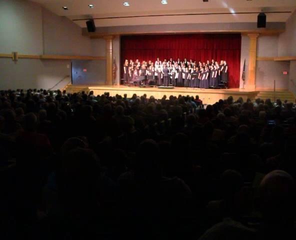 wide shot of auditorium
