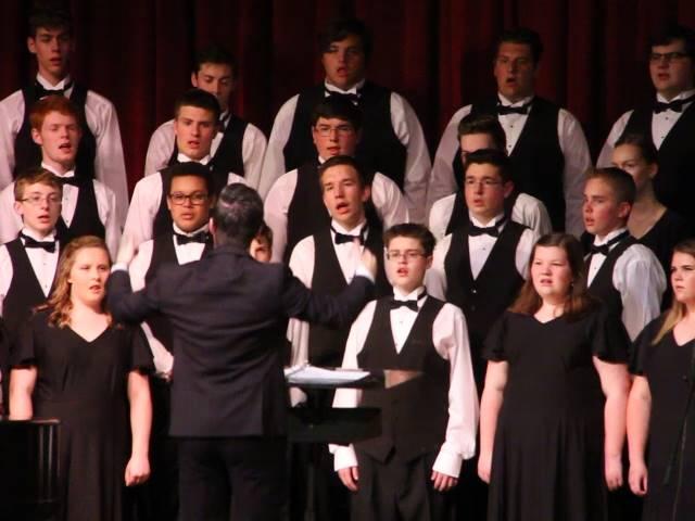students singing songs