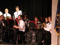 more students playing instruments