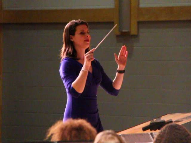miss o brien conducting
