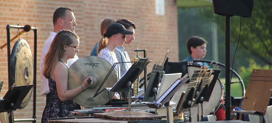 people playing percussion instruments