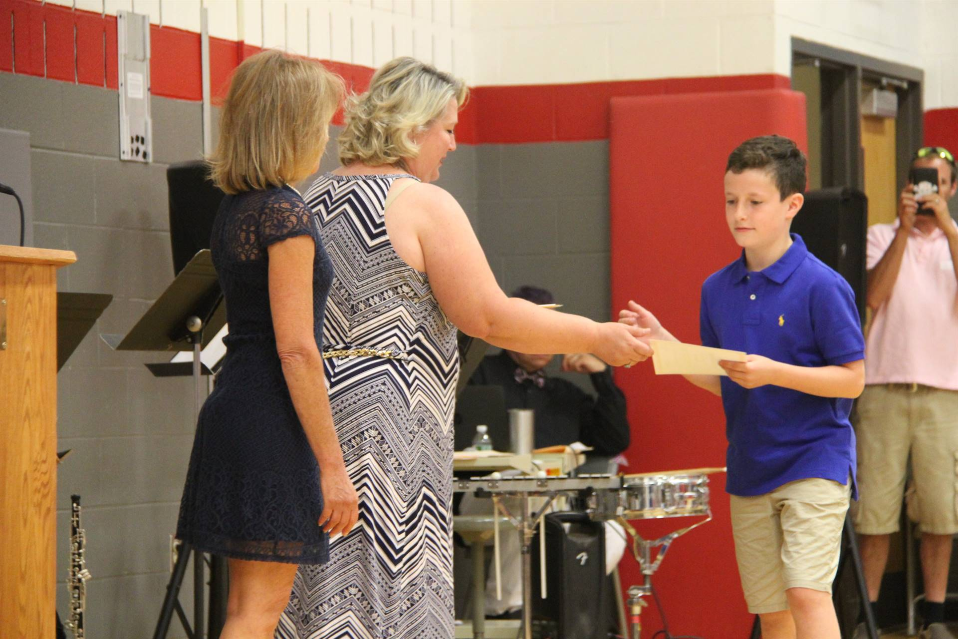 Fifth Grade Moving Up Ceremony 223
