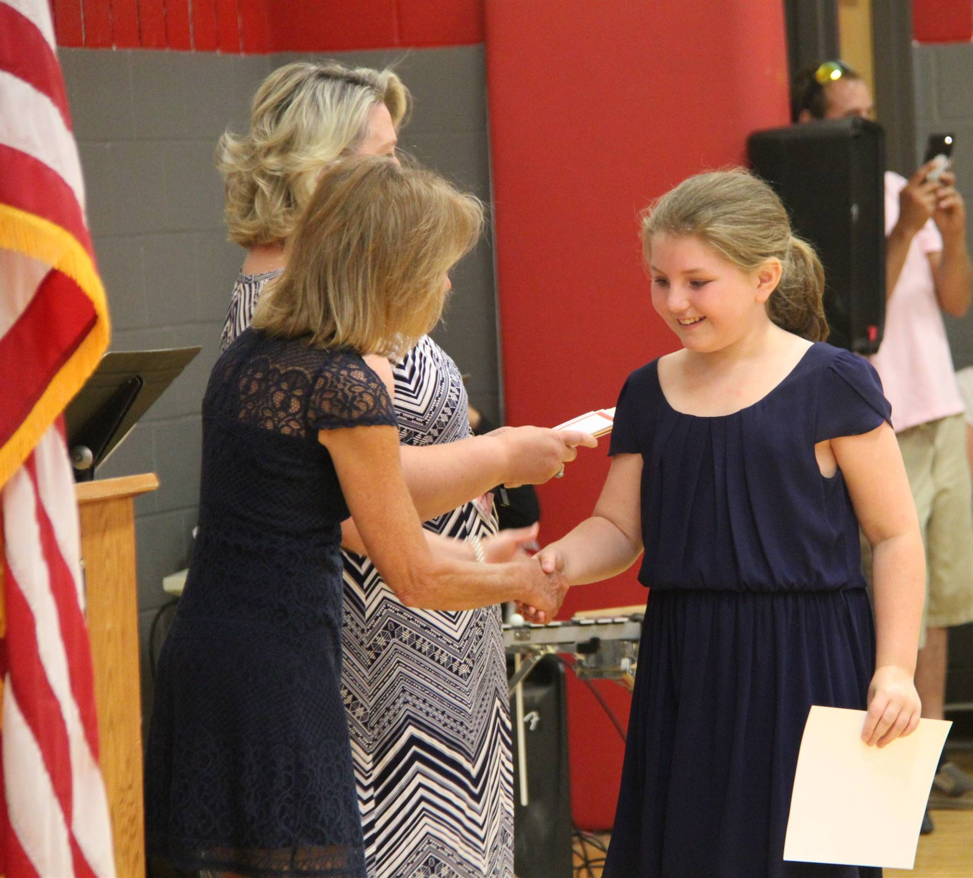 Fifth Grade Moving Up Ceremony 217