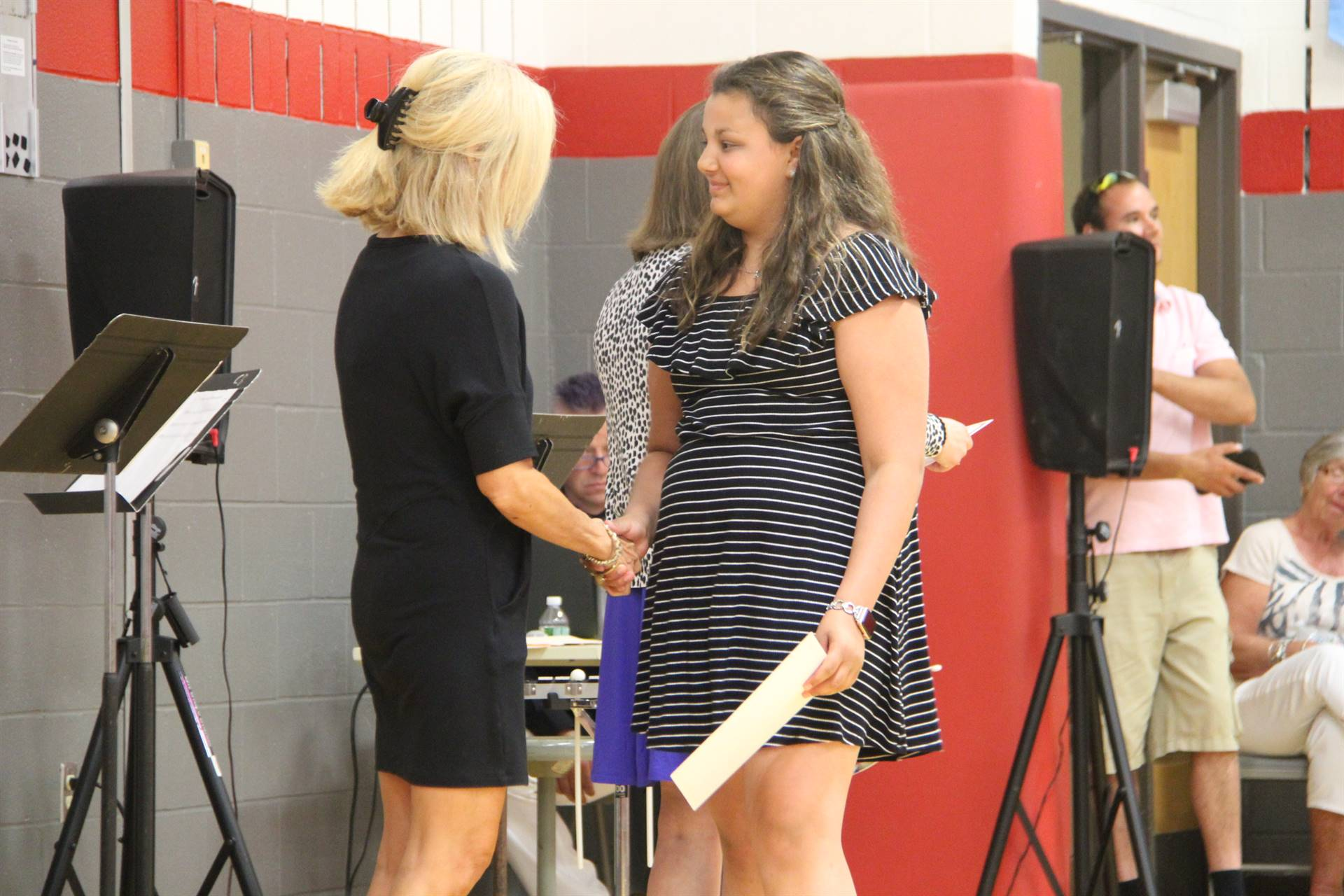 Fifth Grade Moving Up Ceremony 215