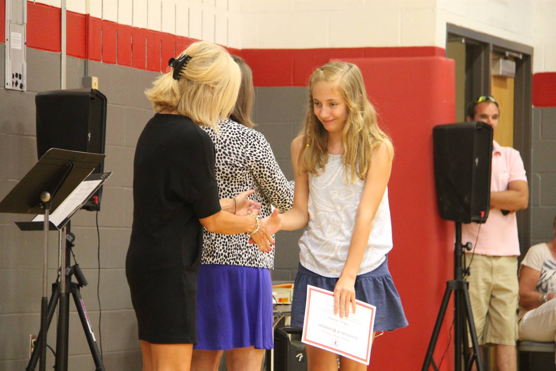 Fifth Grade Moving Up Ceremony 201