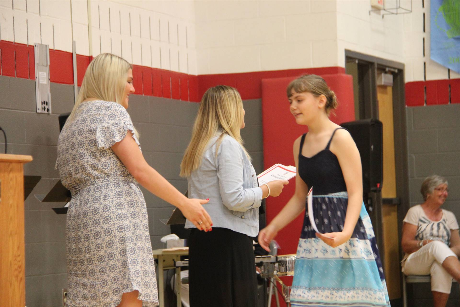 Fifth Grade Moving Up Ceremony 190