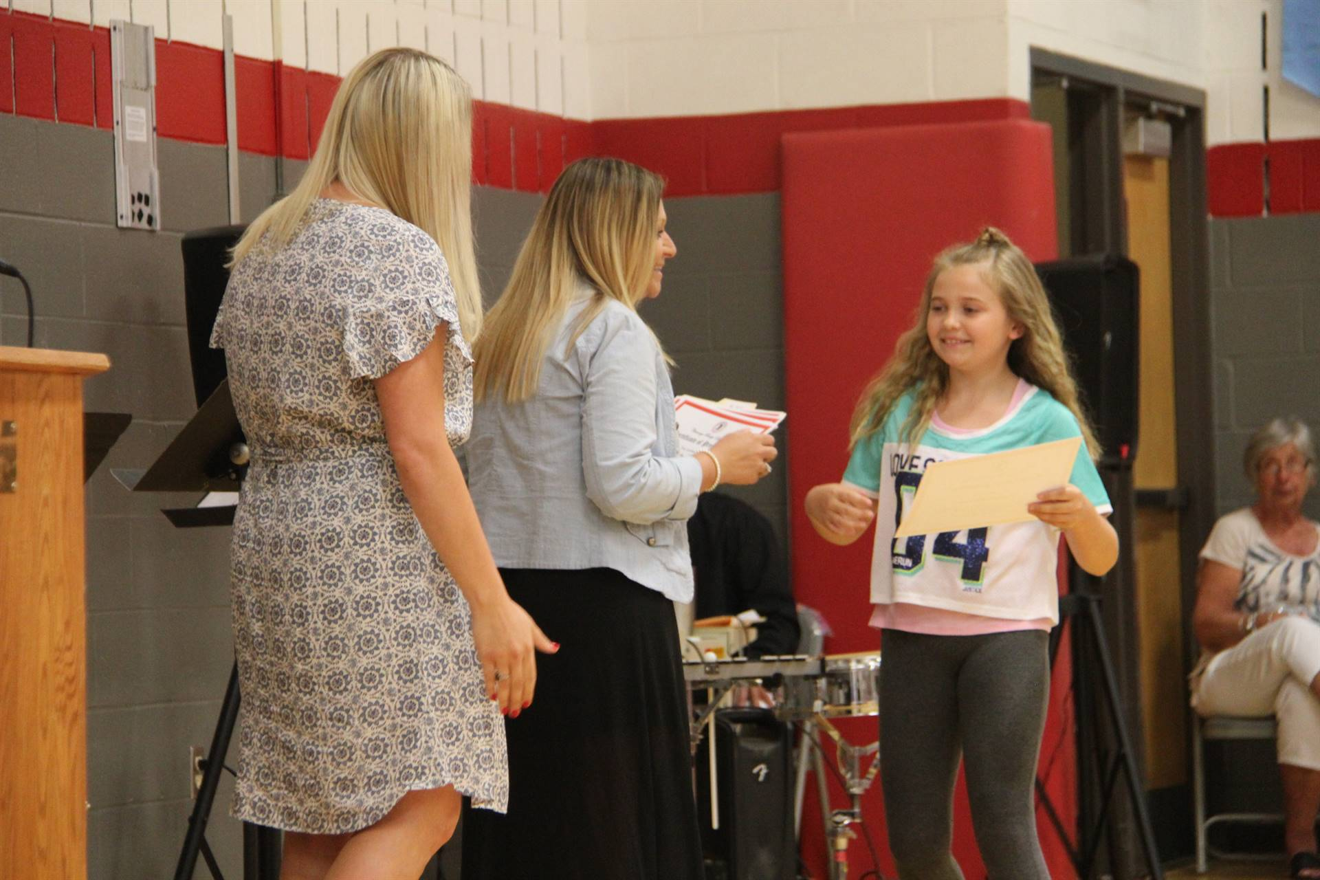 Fifth Grade Moving Up Ceremony 185