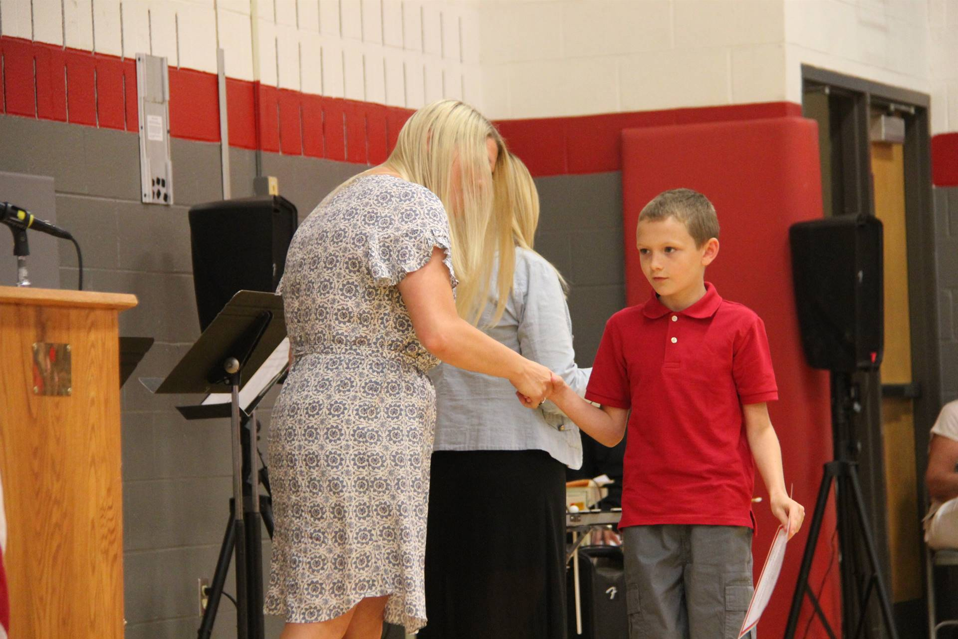 Fifth Grade Moving Up Ceremony 184