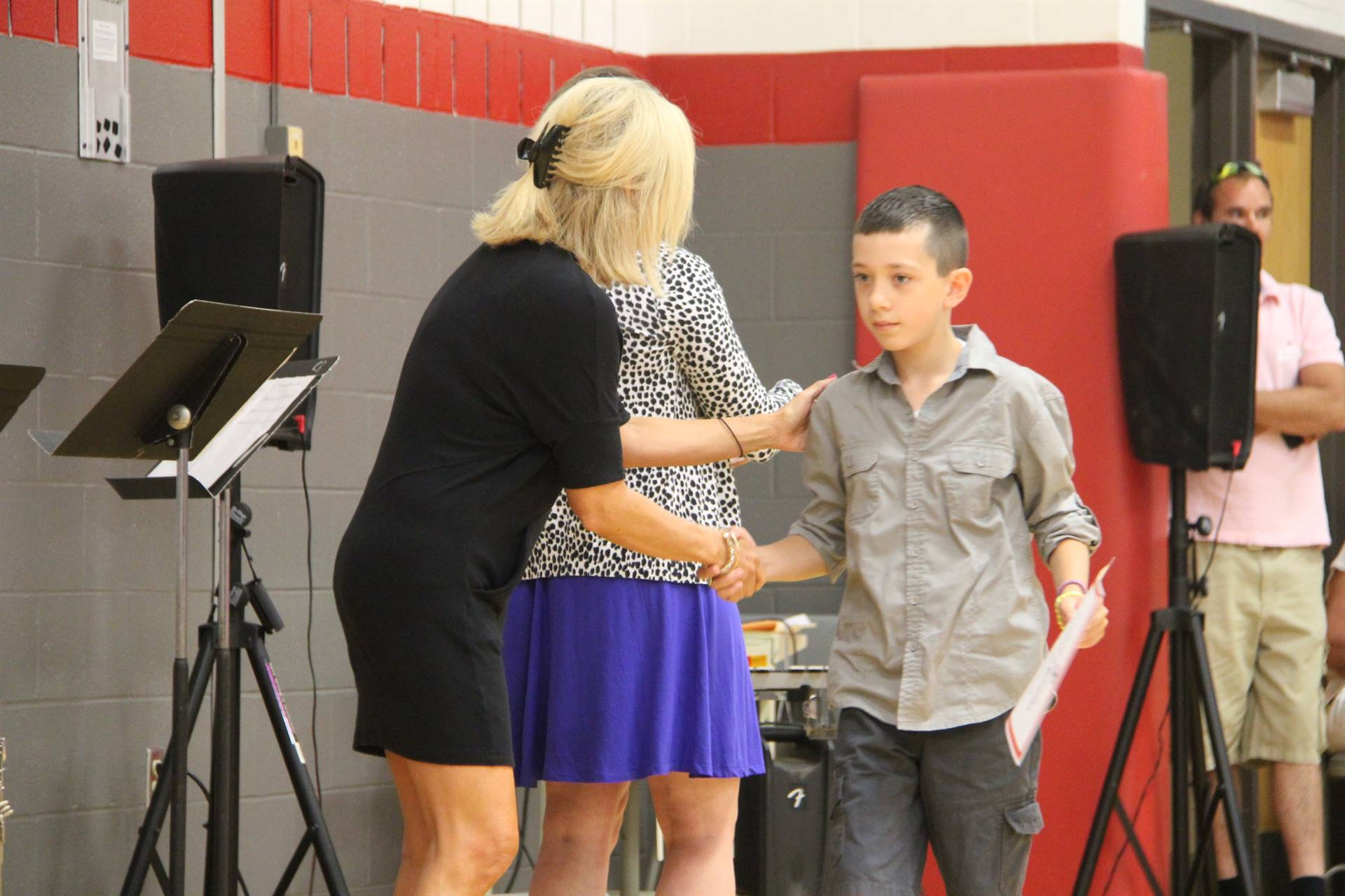 Fifth Grade Moving Up Ceremony 202