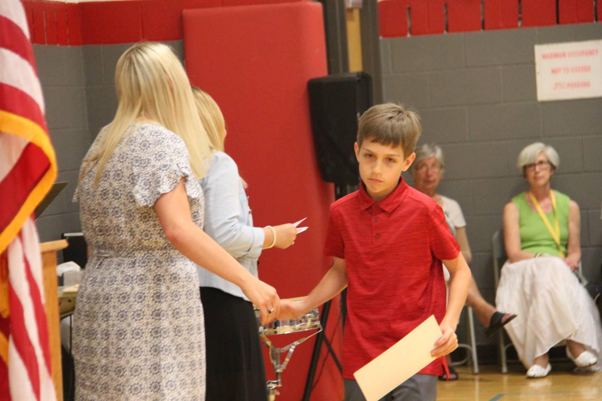 Fifth Grade Moving Up Ceremony 178