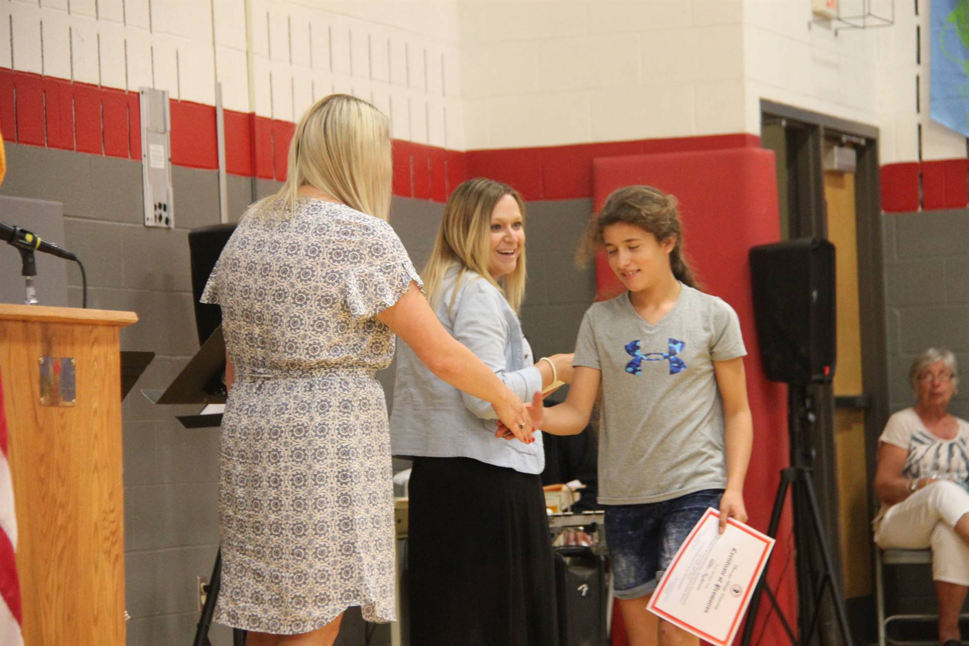Fifth Grade Moving Up Ceremony 181