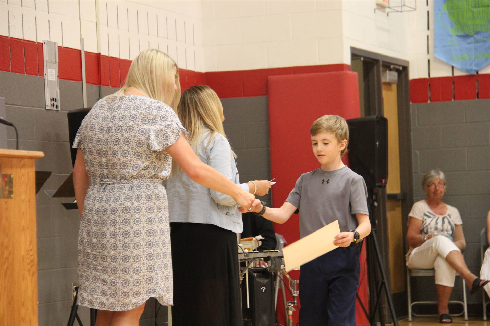 Fifth Grade Moving Up Ceremony 180