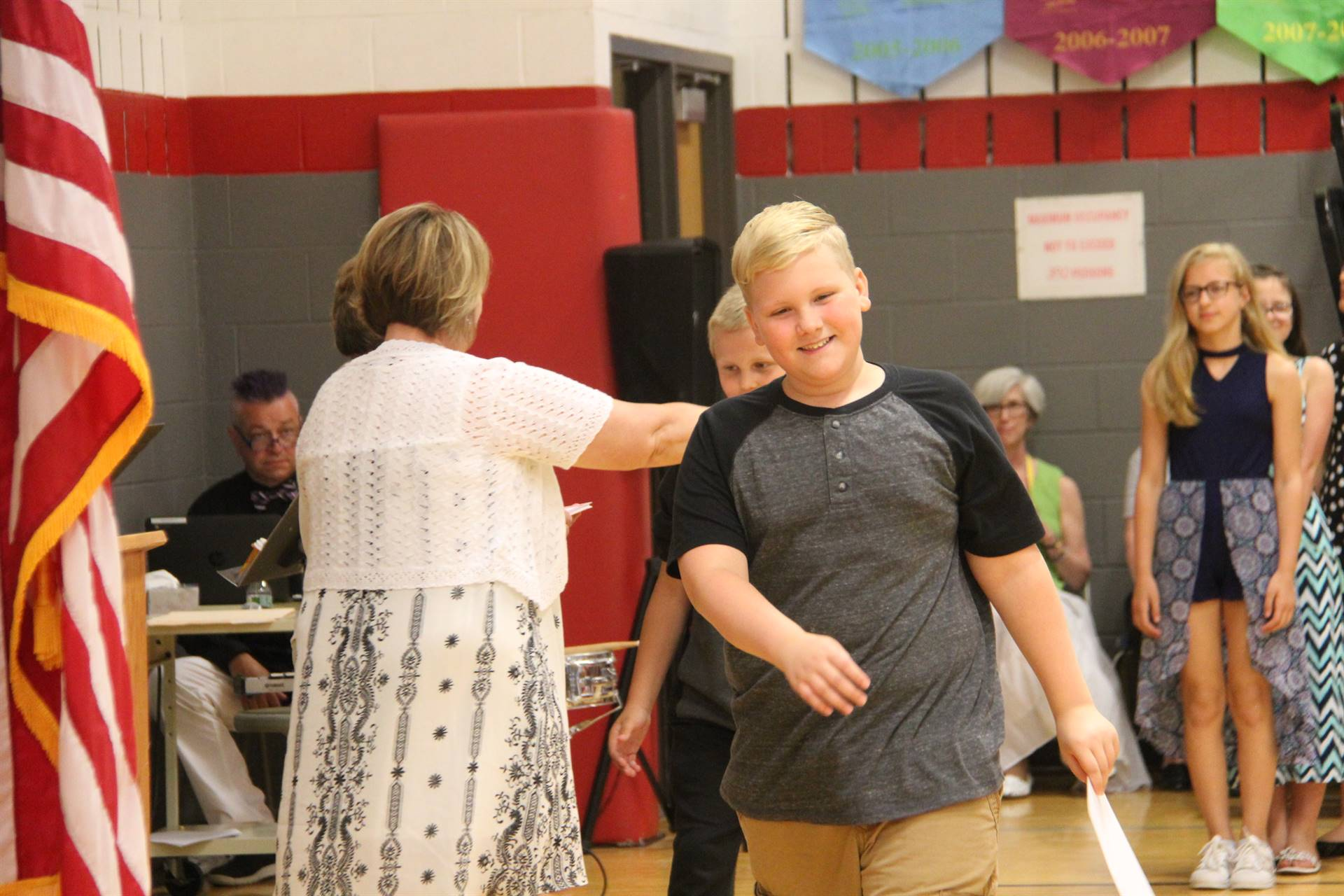 Fifth Grade Moving Up Ceremony 156