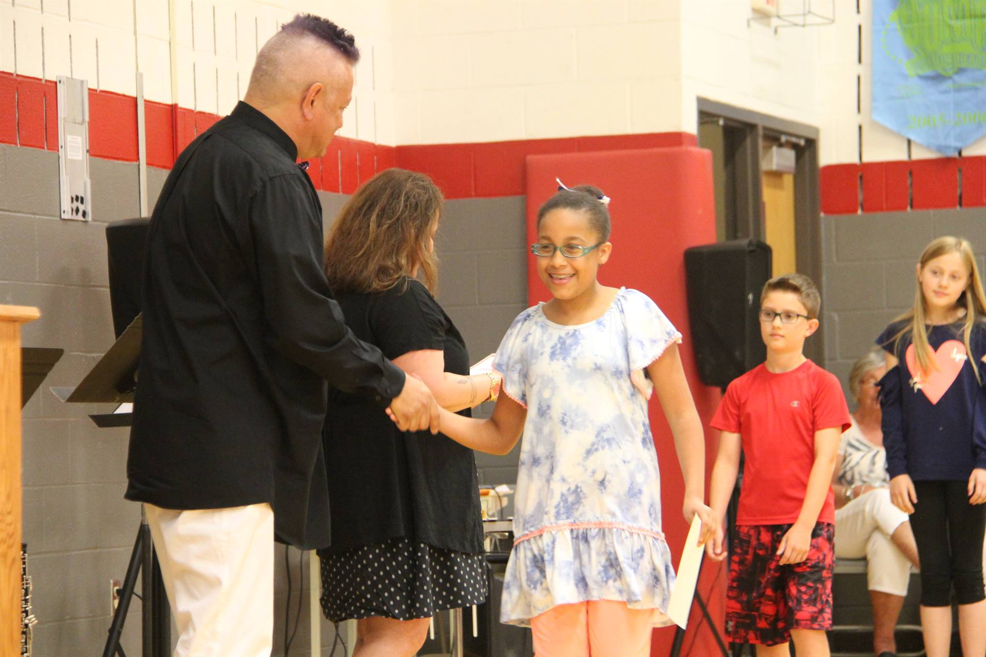 Fifth Grade Moving Up Ceremony 155