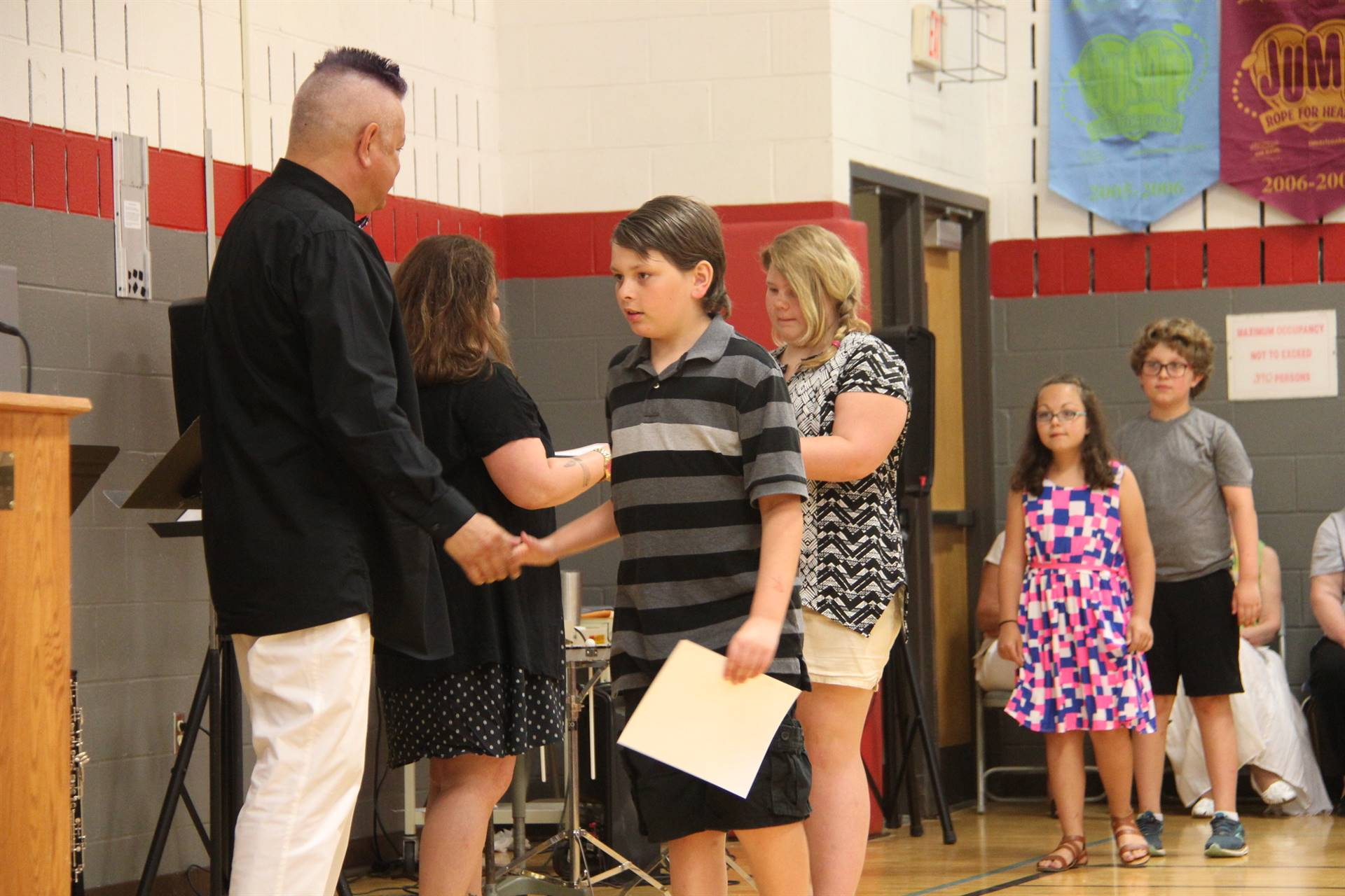 Fifth Grade Moving Up Ceremony 148
