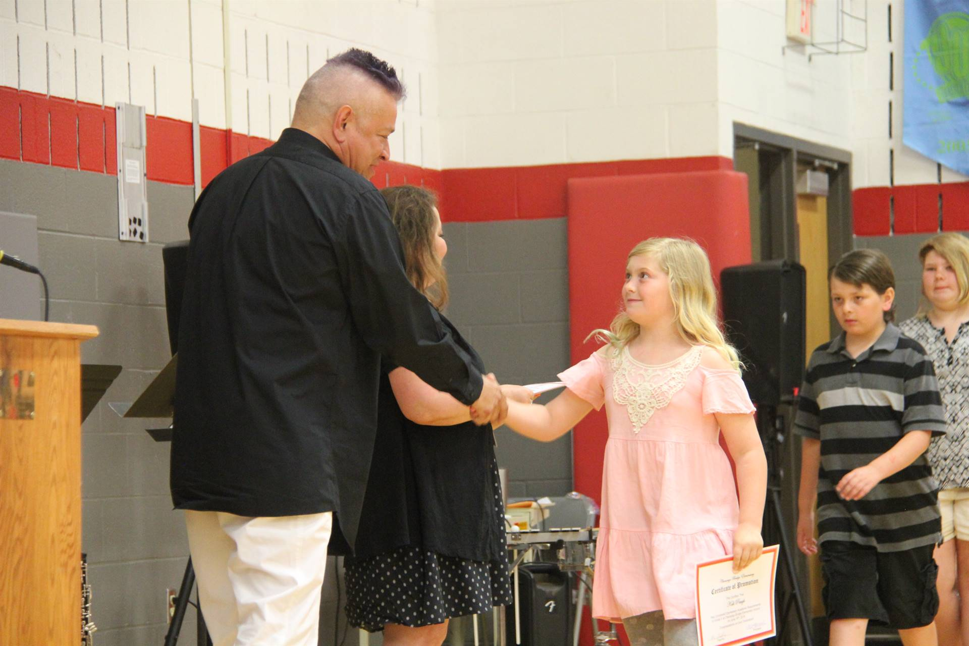 Fifth Grade Moving Up Ceremony 147