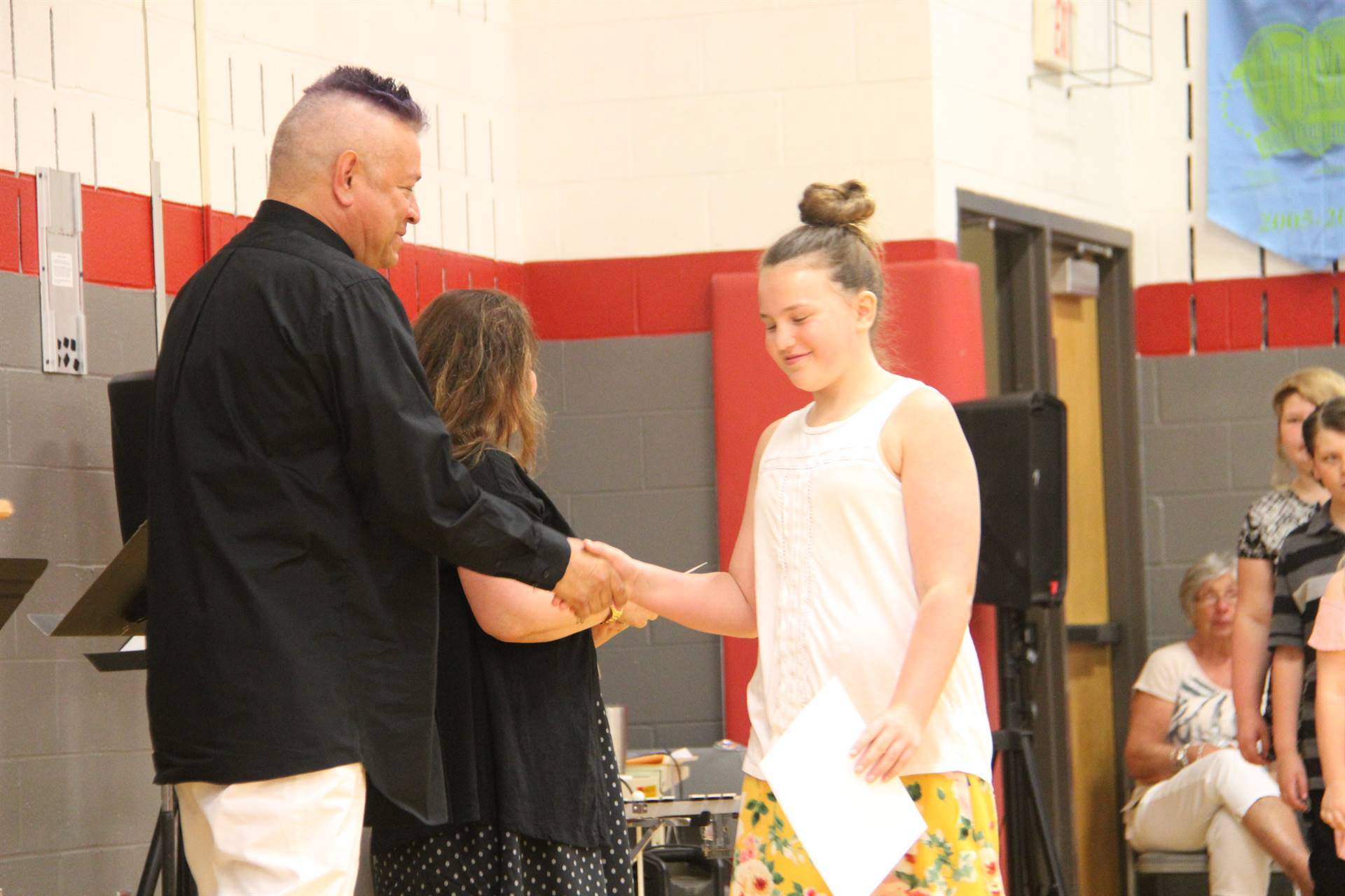 Fifth Grade Moving Up Ceremony 146