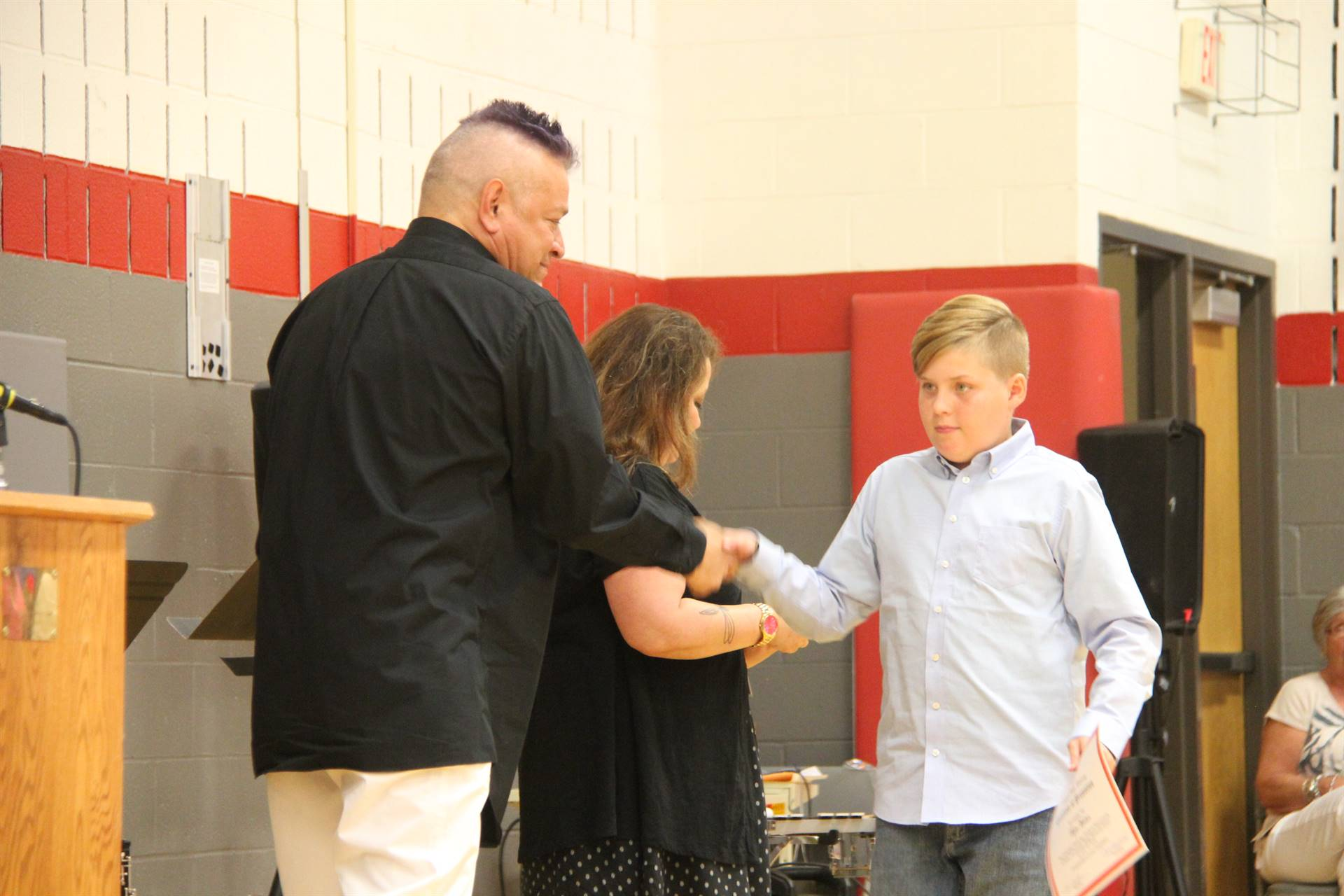 Fifth Grade Moving Up Ceremony 145