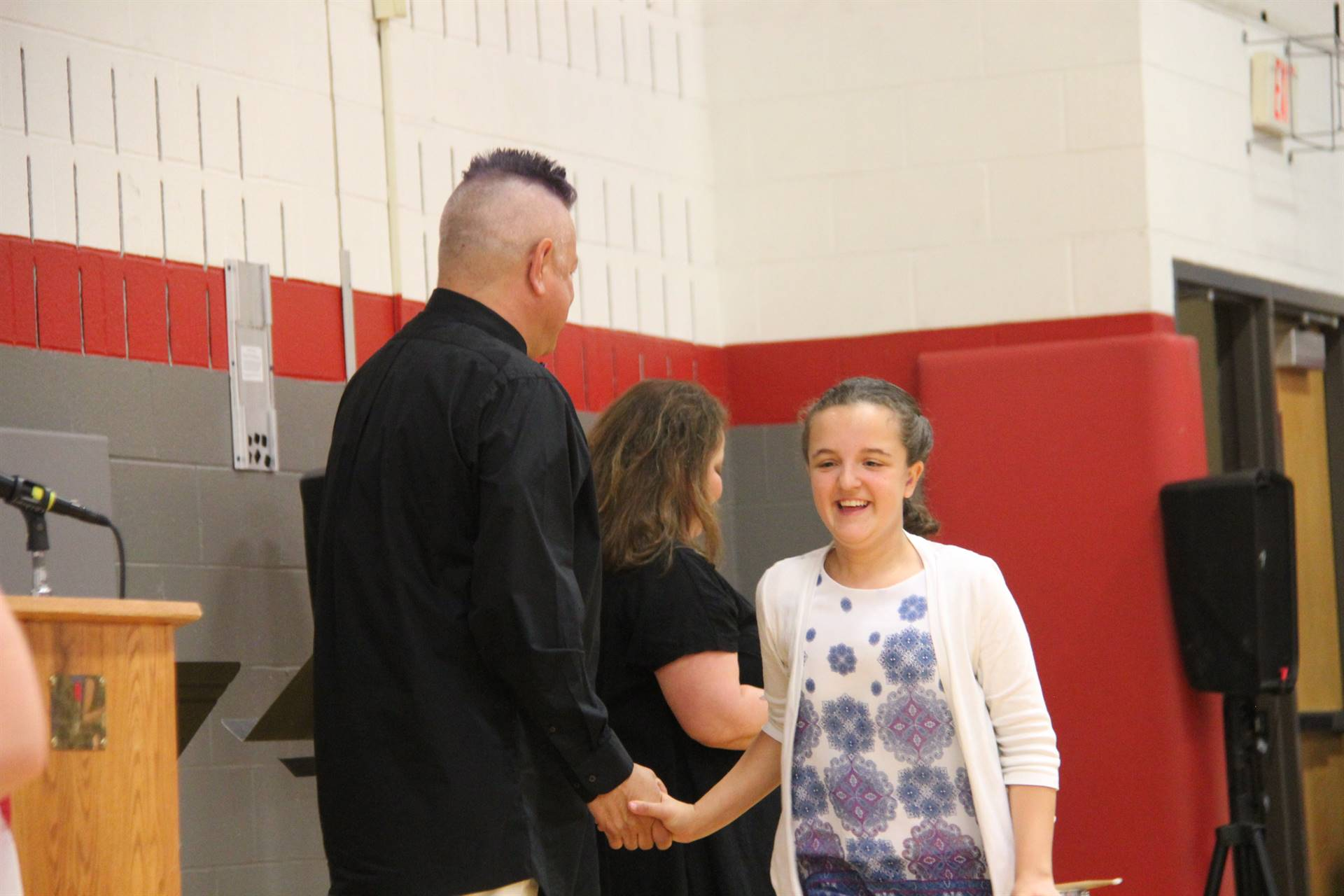 Fifth Grade Moving Up Ceremony 142