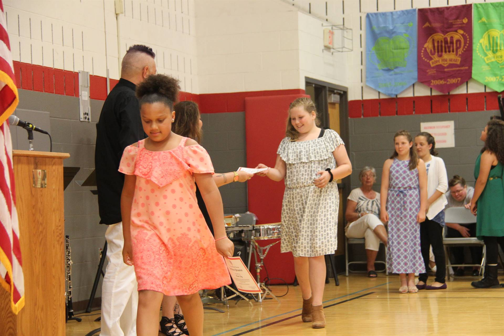 Fifth Grade Moving Up Ceremony 141