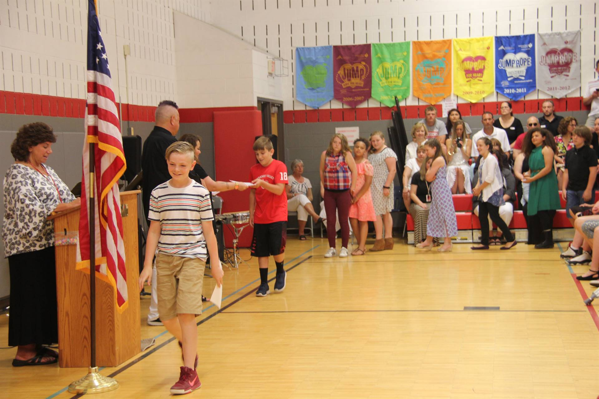Fifth Grade Moving Up Ceremony 140