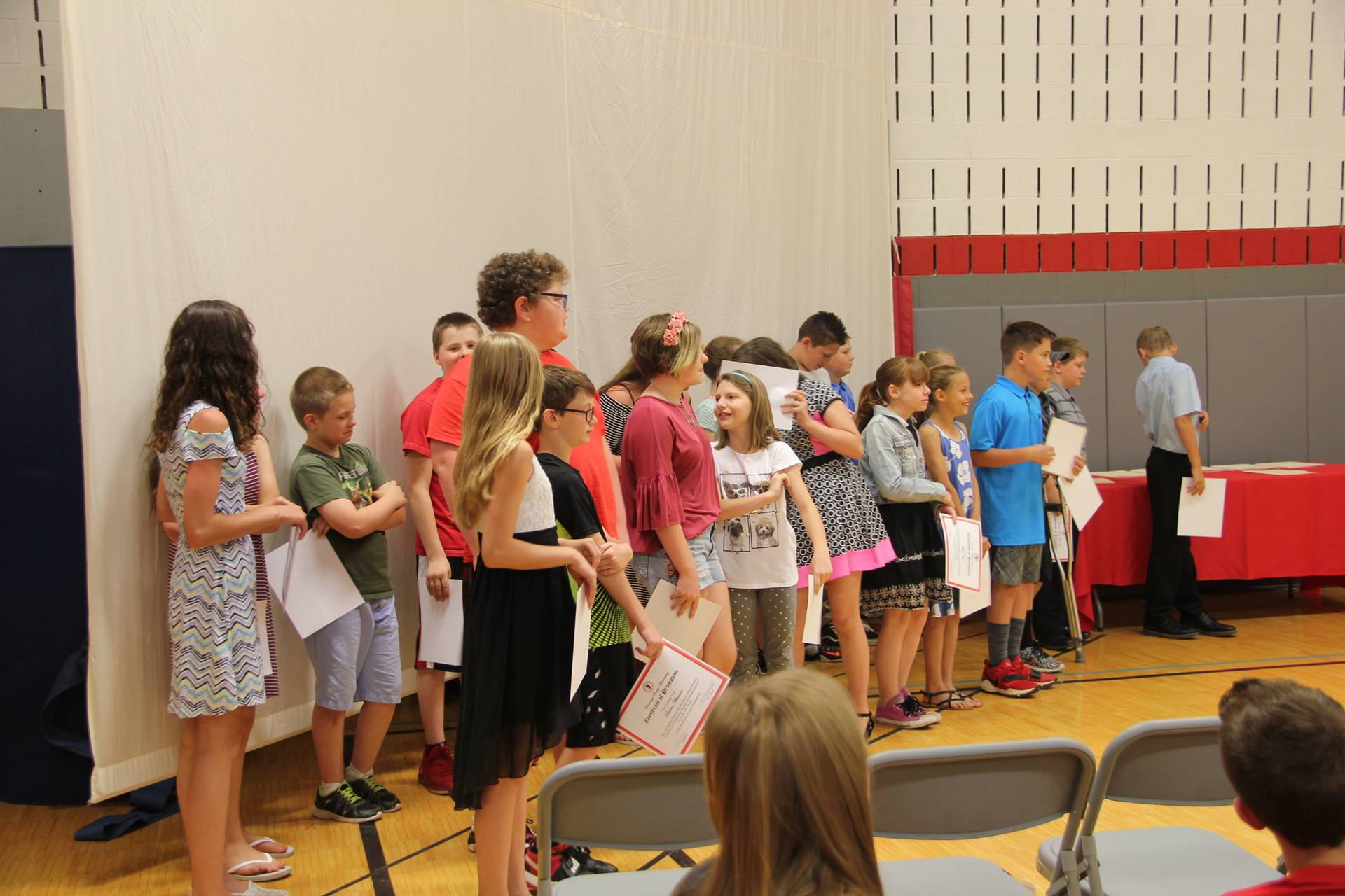 Fifth Grade Moving Up Ceremony 139