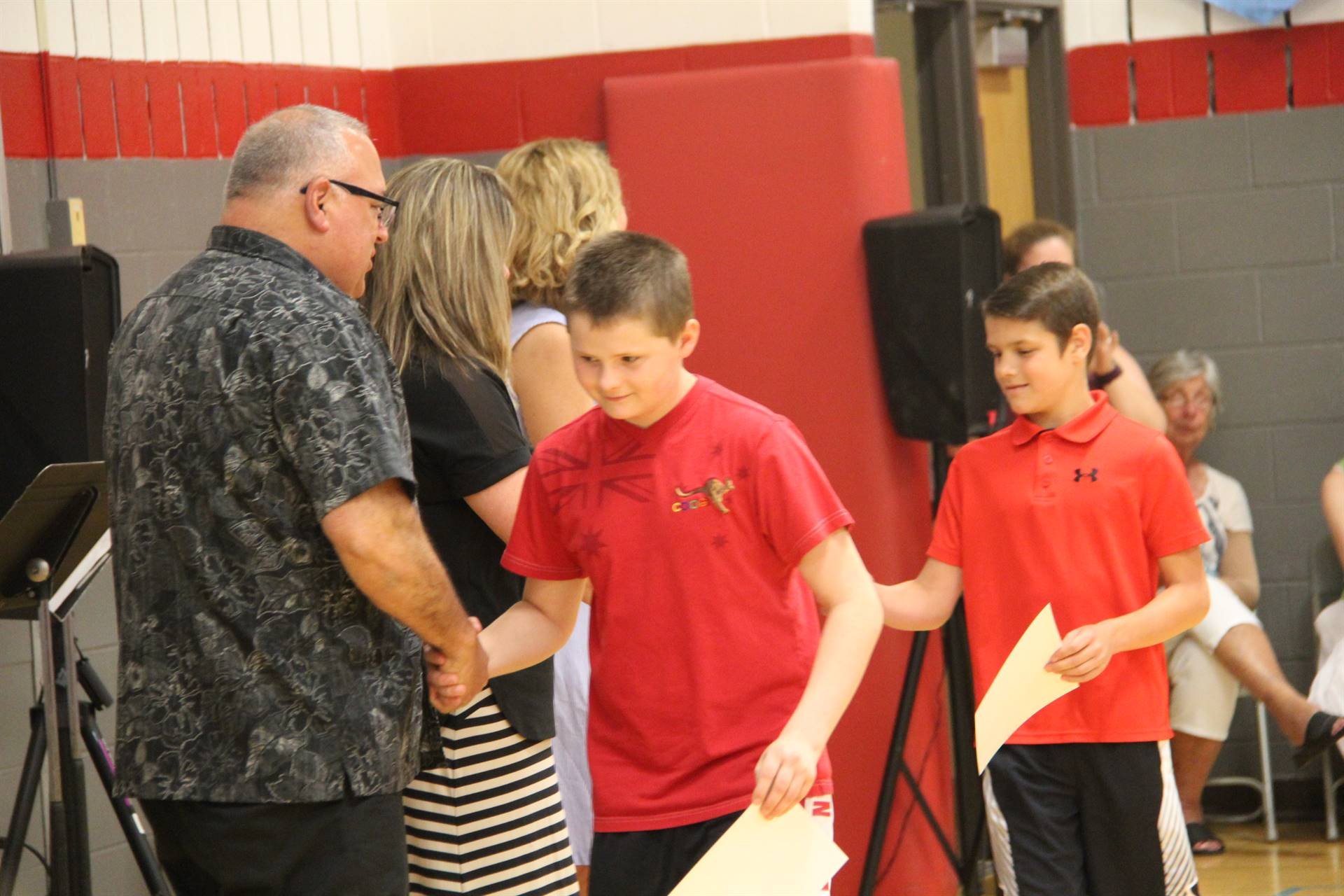 Fifth Grade Moving Up Ceremony 135