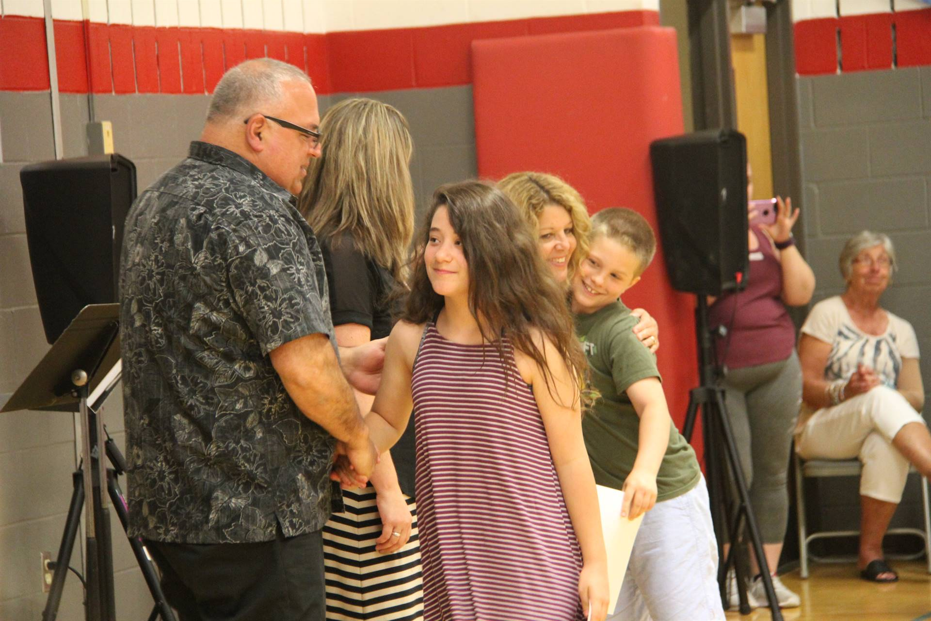 Fifth Grade Moving Up Ceremony 134