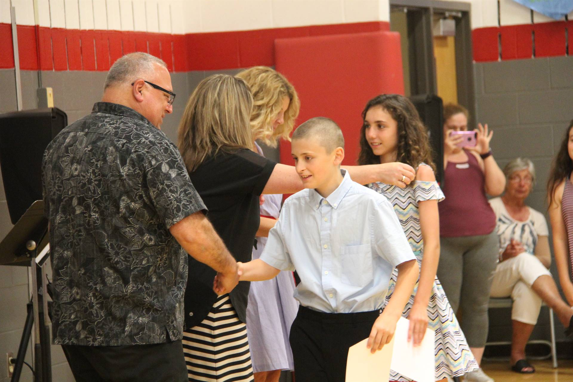 Fifth Grade Moving Up Ceremony 133