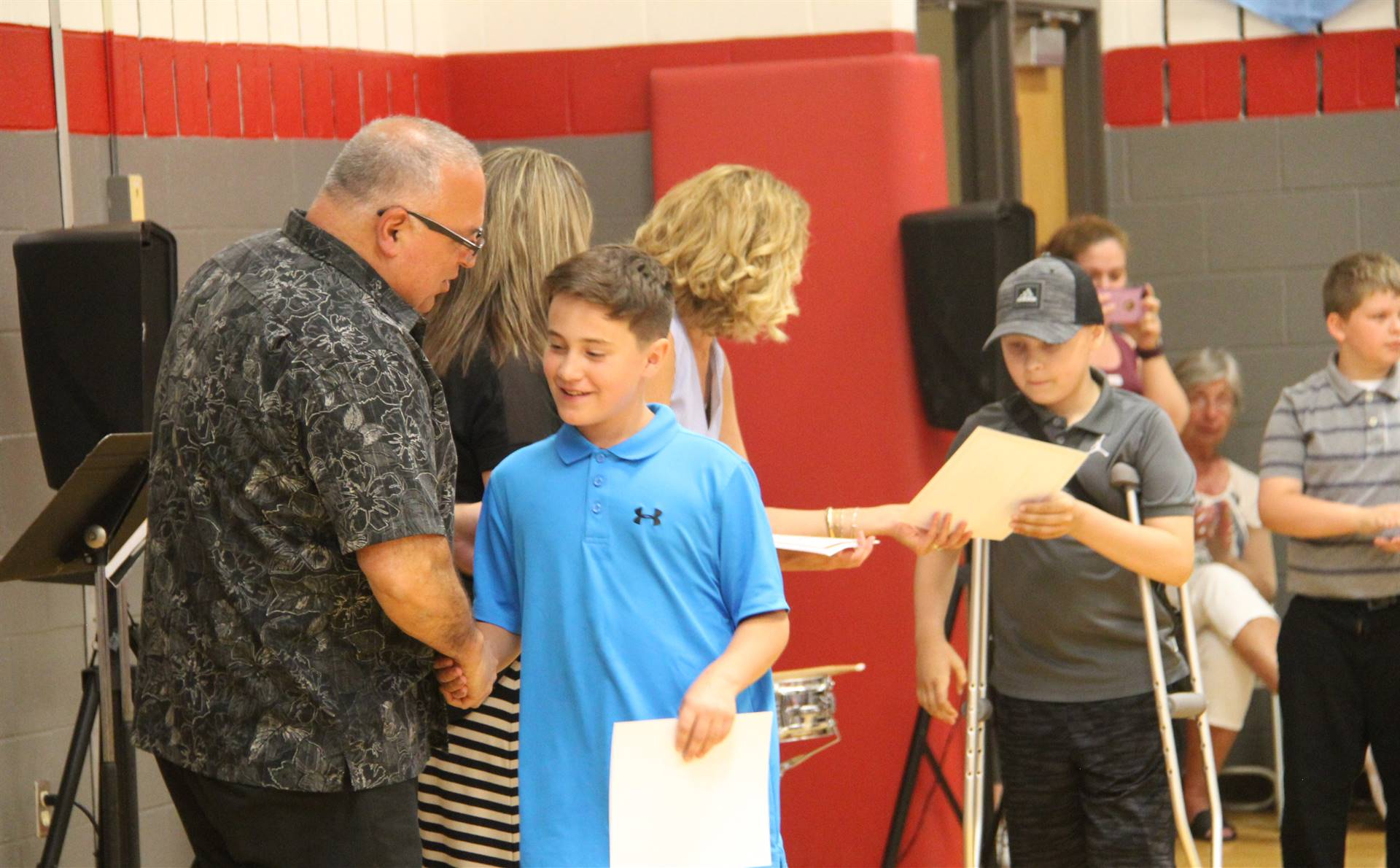 Fifth Grade Moving Up Ceremony 131