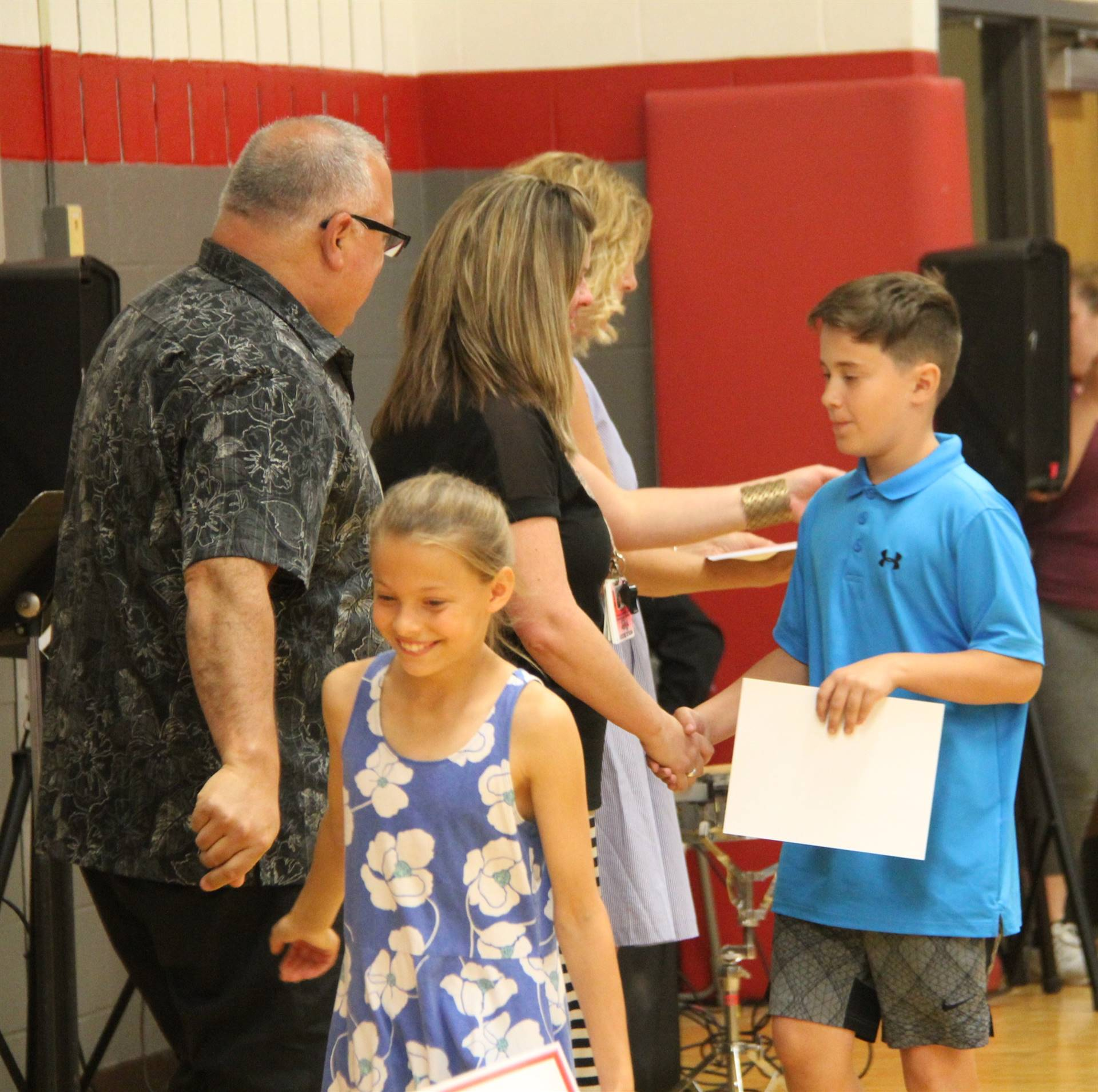 Fifth Grade Moving Up Ceremony 130