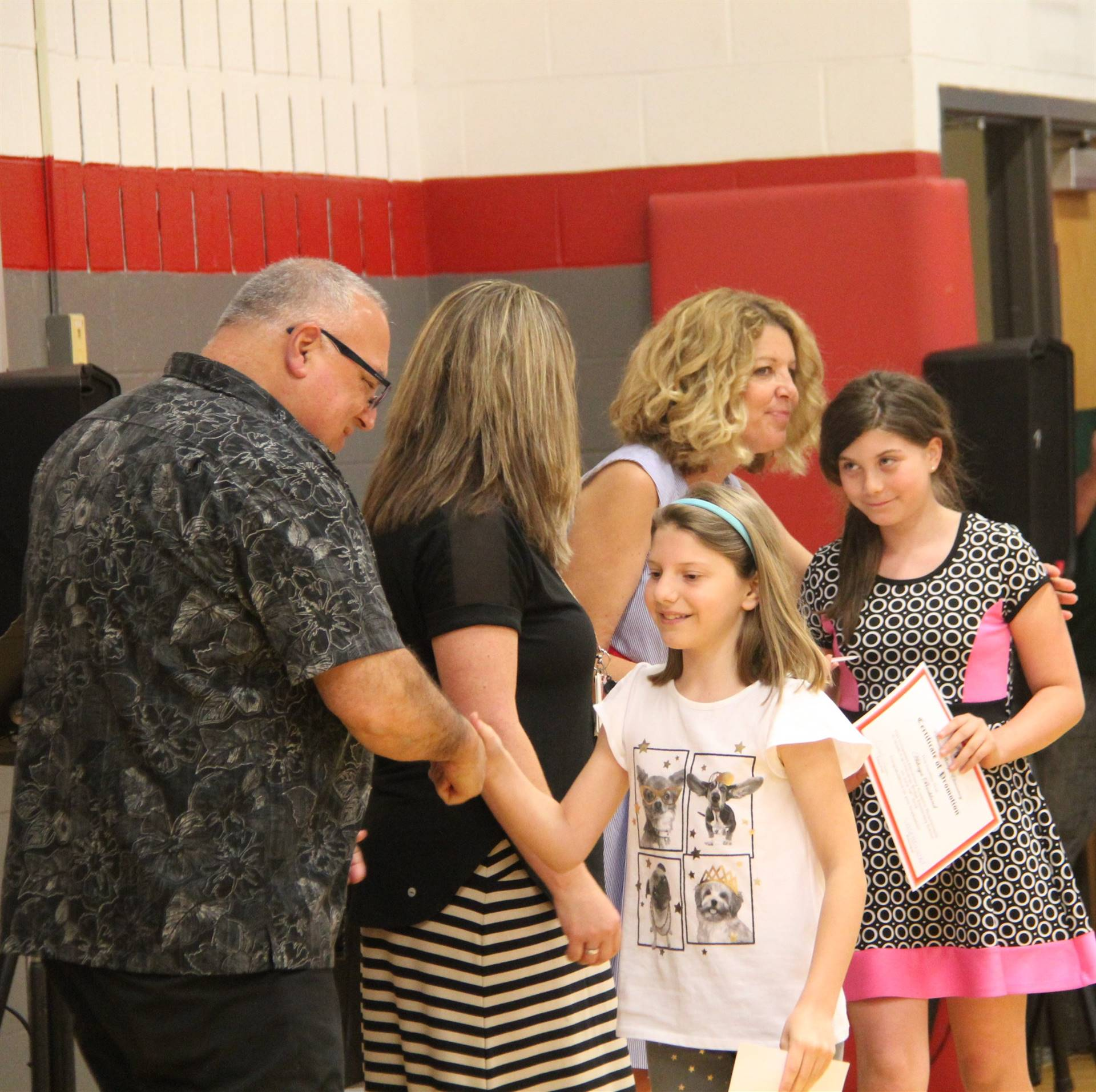 Fifth Grade Moving Up Ceremony 128