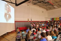 Fifth Grade Moving Up Ceremony 124