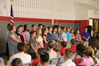Fifth Grade Moving Up Ceremony 122