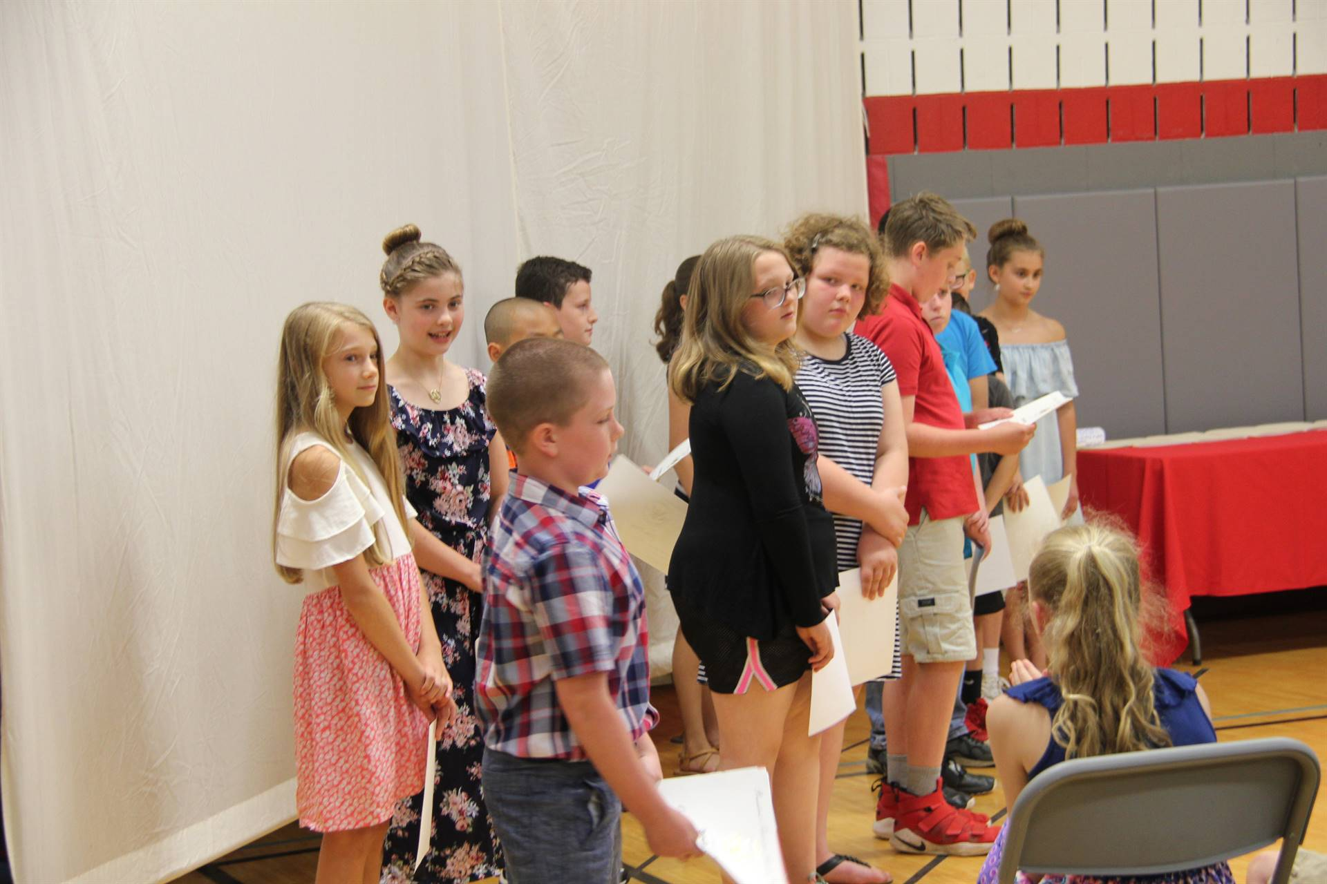 Fifth Grade Moving Up Ceremony 115