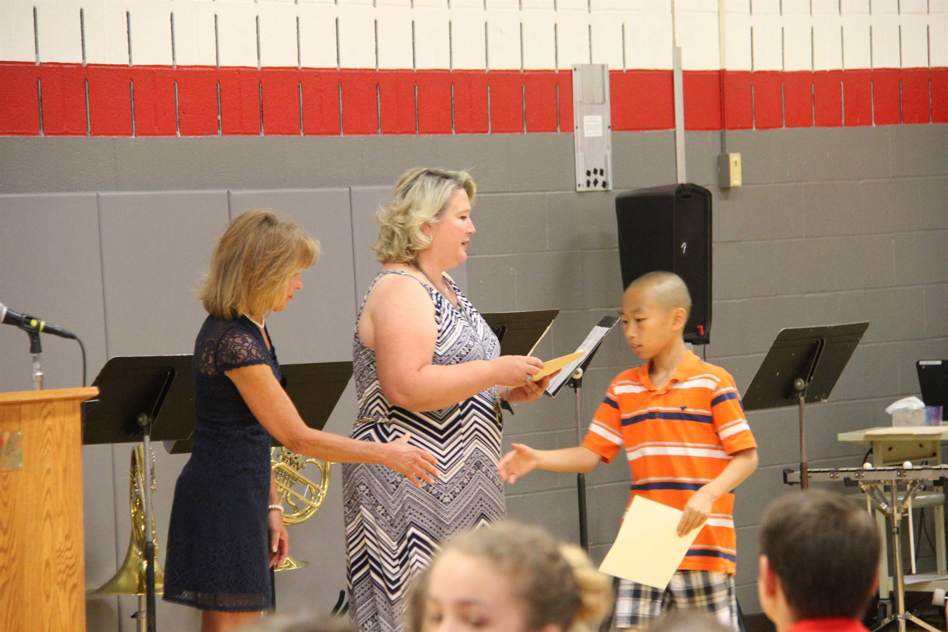 Fifth Grade Moving Up Ceremony 111