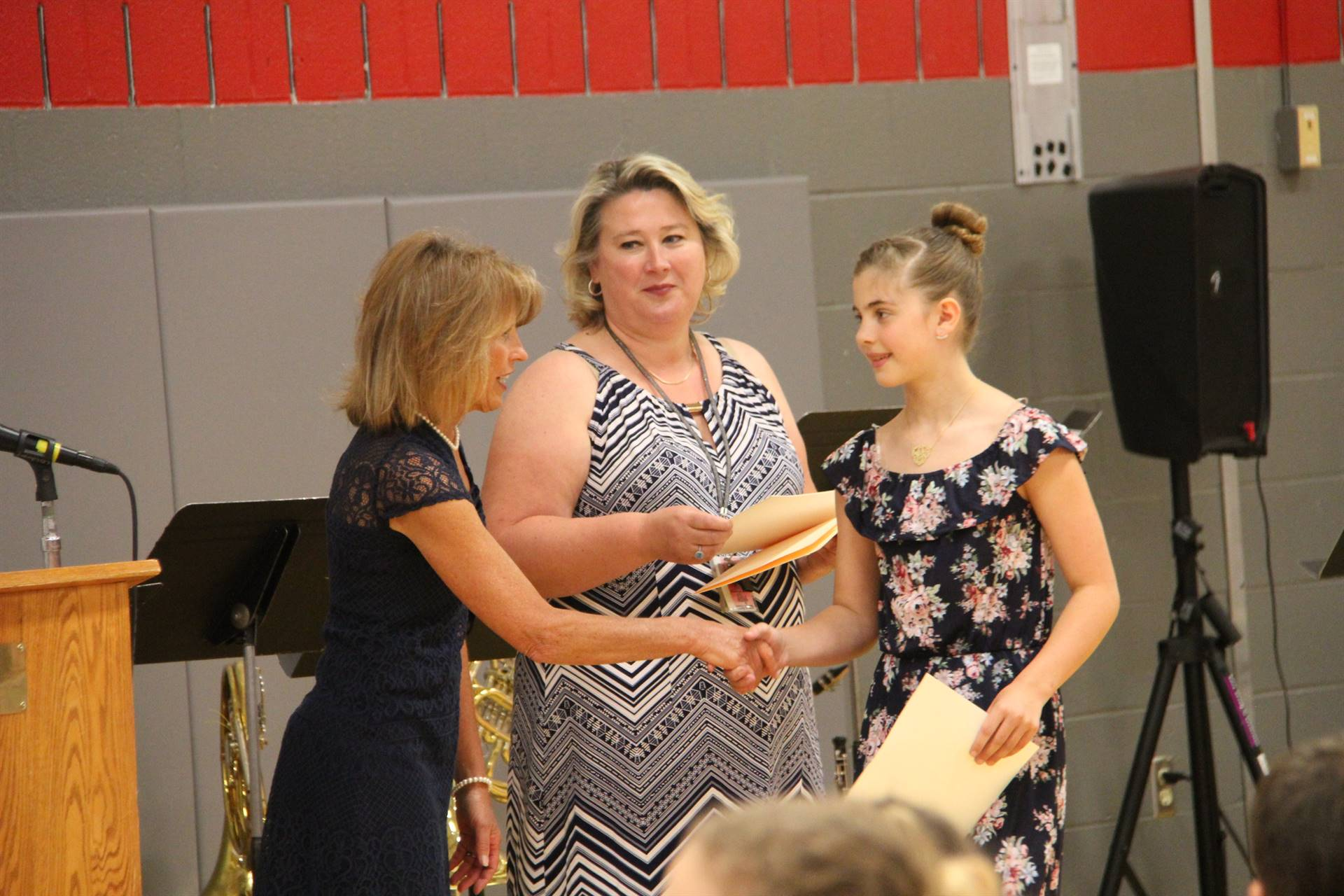 Fifth Grade Moving Up Ceremony 110