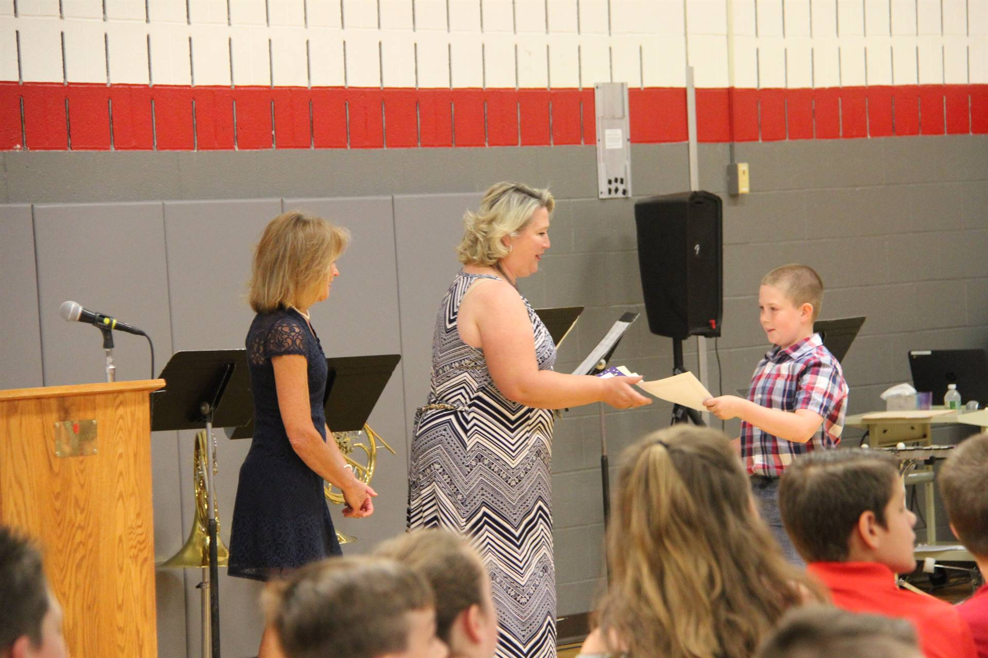 Fifth Grade Moving Up Ceremony 100