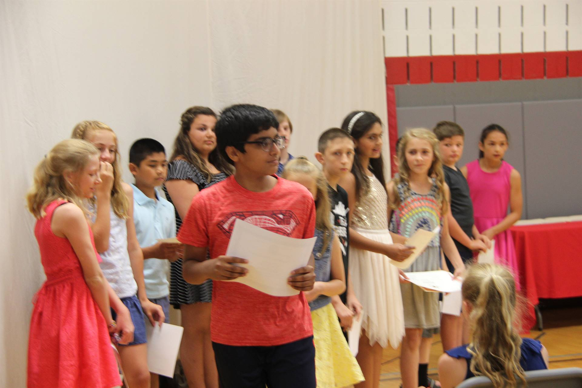 Fifth Grade Moving Up Ceremony 99
