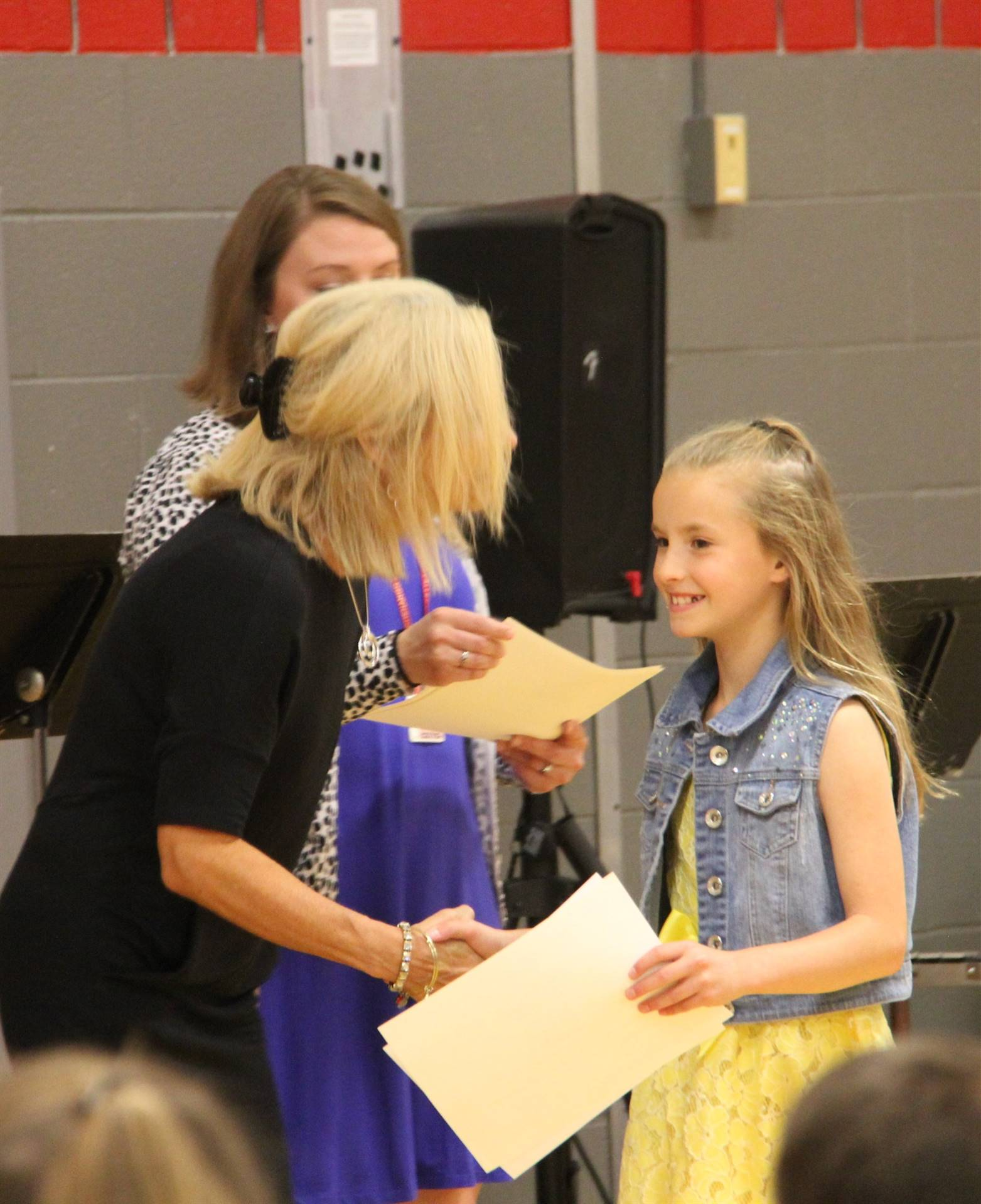 Fifth Grade Moving Up Ceremony 95
