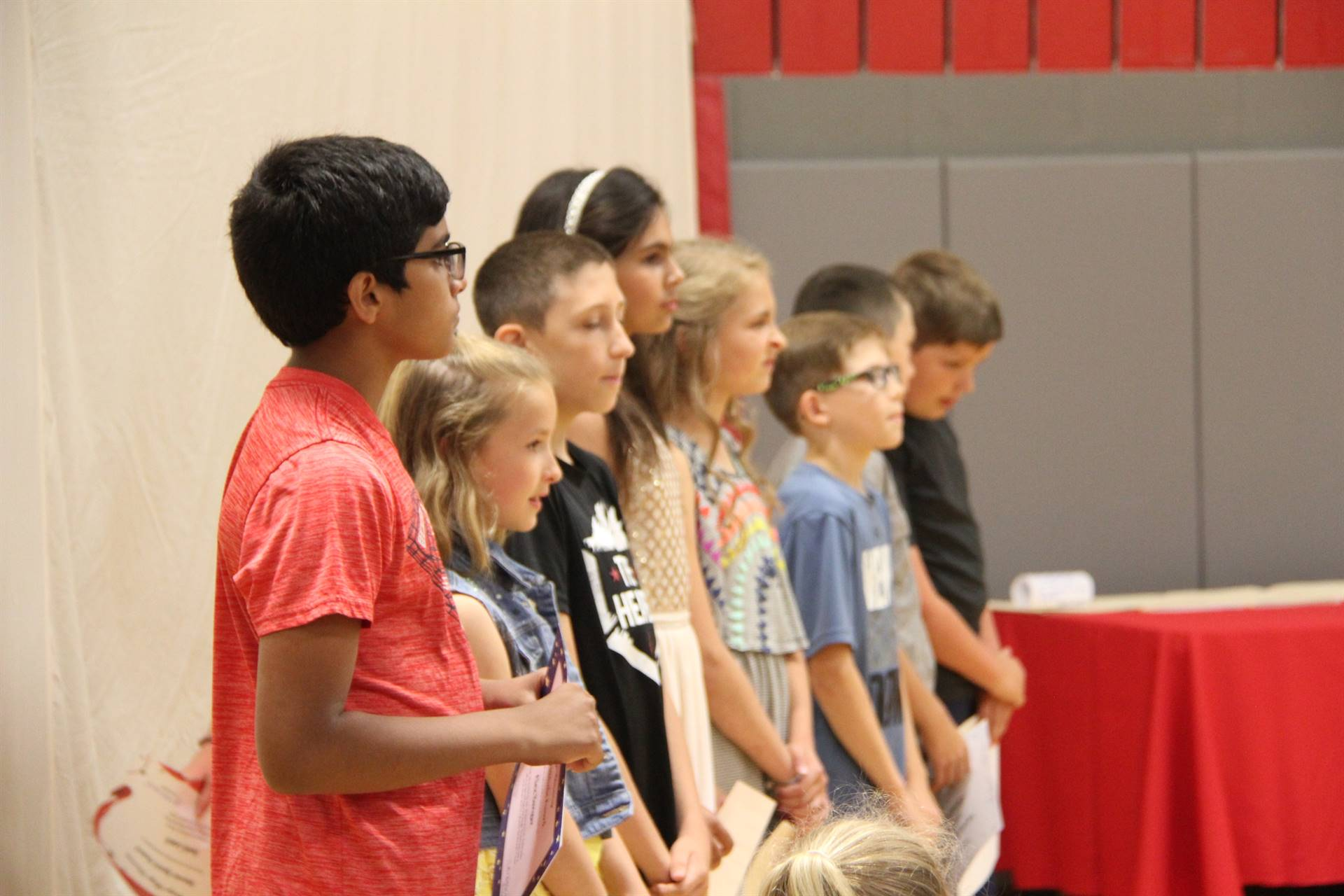 Fifth Grade Moving Up Ceremony 90