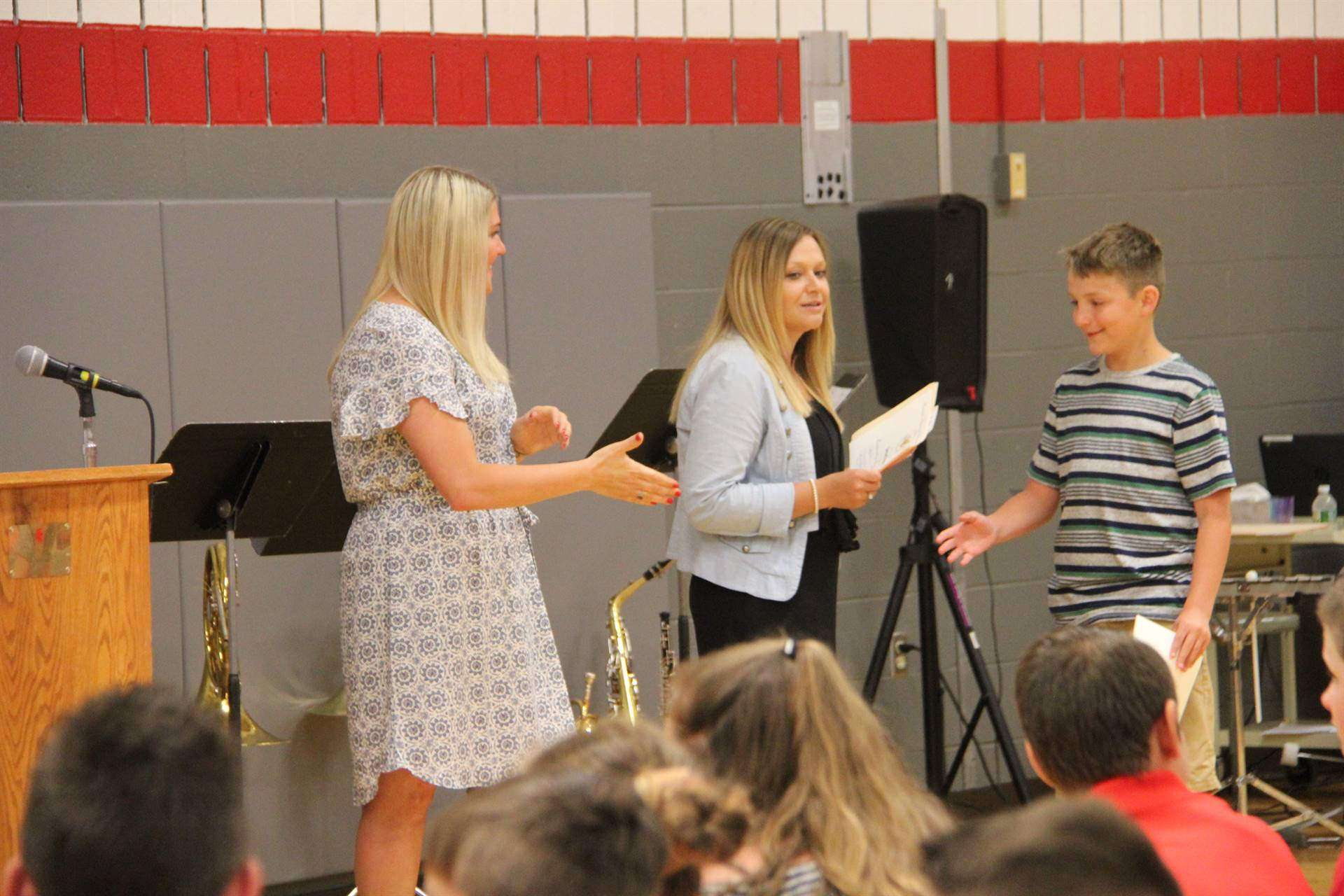Fifth Grade Moving Up Ceremony 80