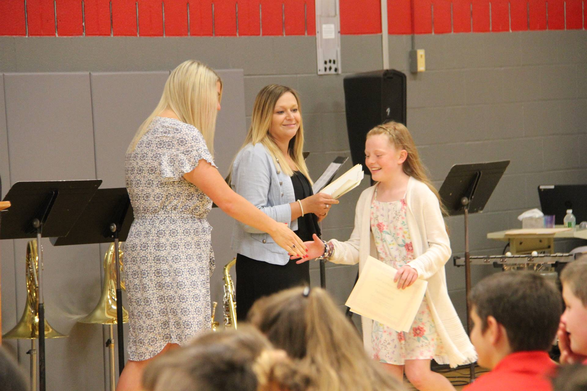 Fifth Grade Moving Up Ceremony 79