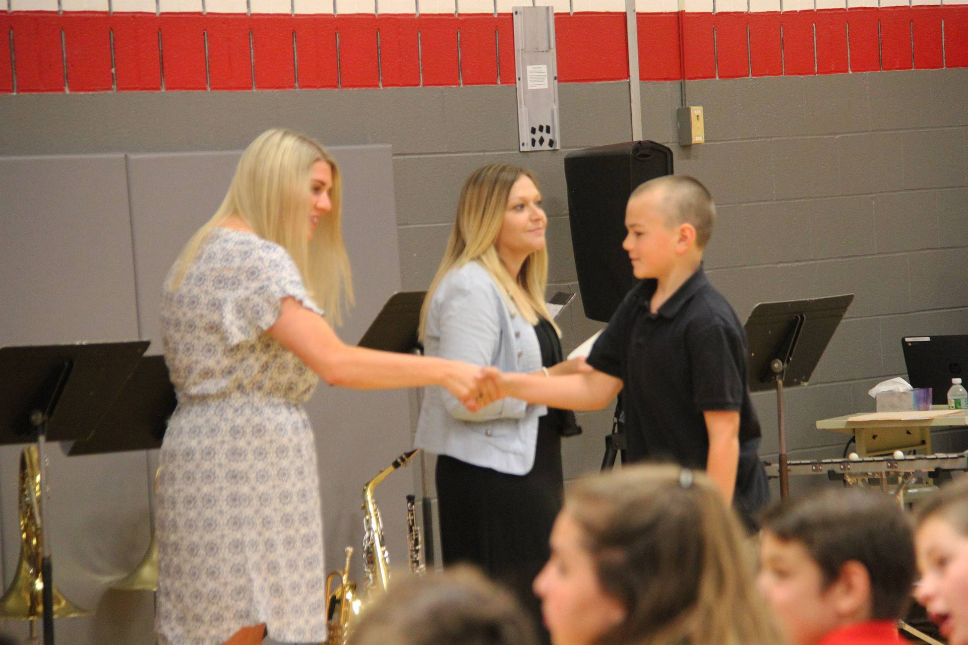 Fifth Grade Moving Up Ceremony 75