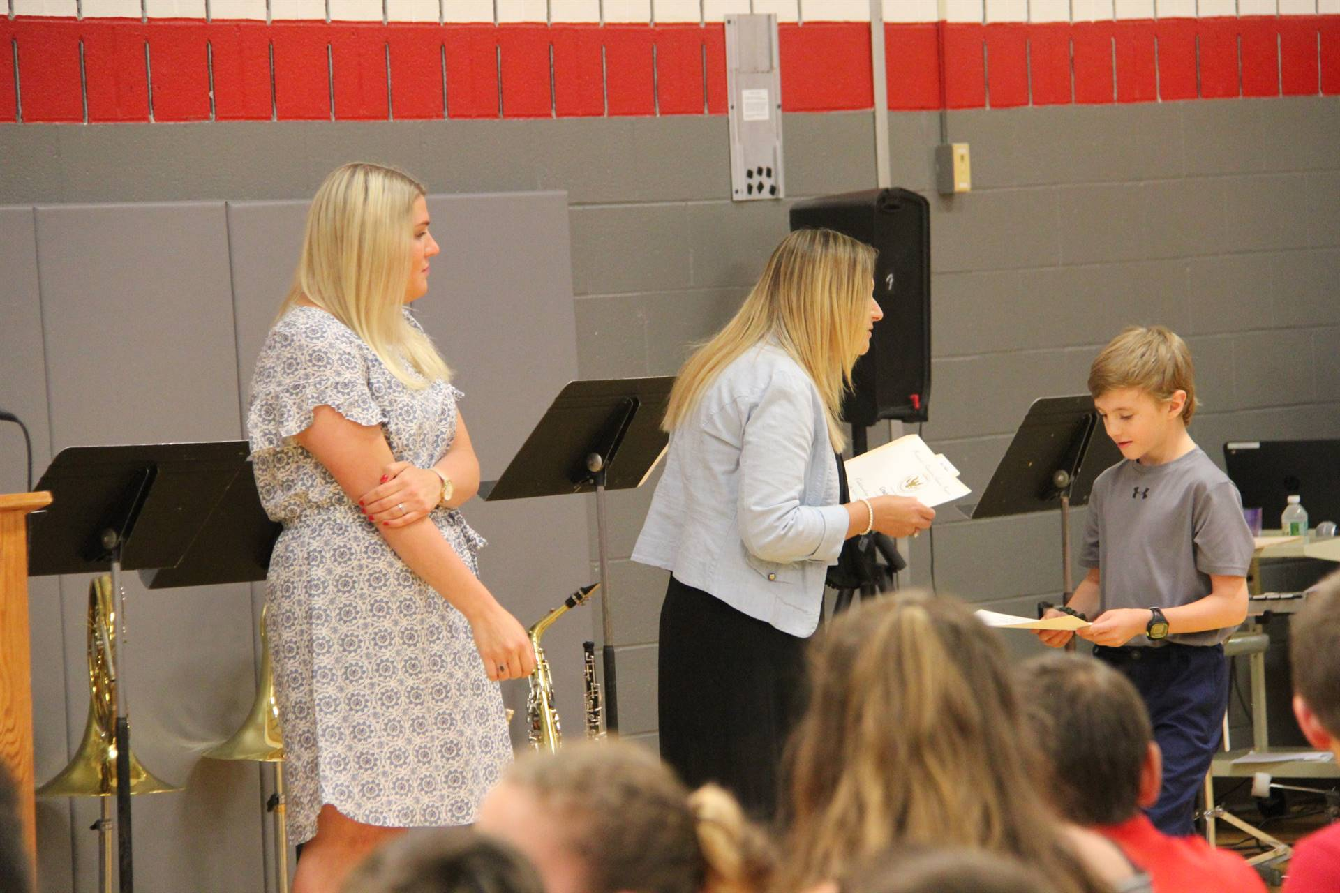 Fifth Grade Moving Up Ceremony 74