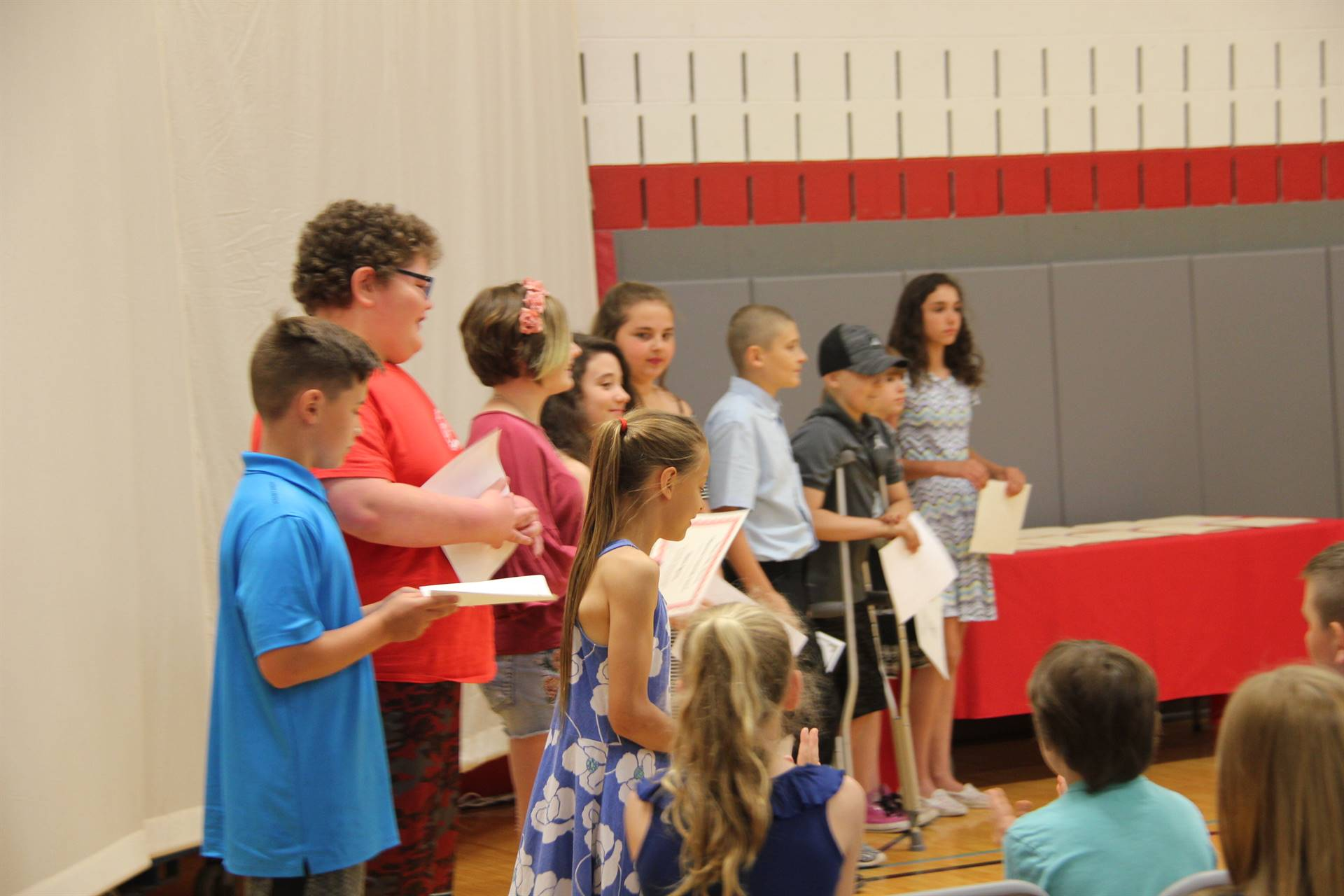 Fifth Grade Moving Up Ceremony 40