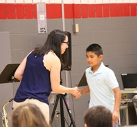 Fifth Grade Moving Up Ceremony 26
