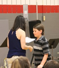 Fifth Grade Moving Up Ceremony 25