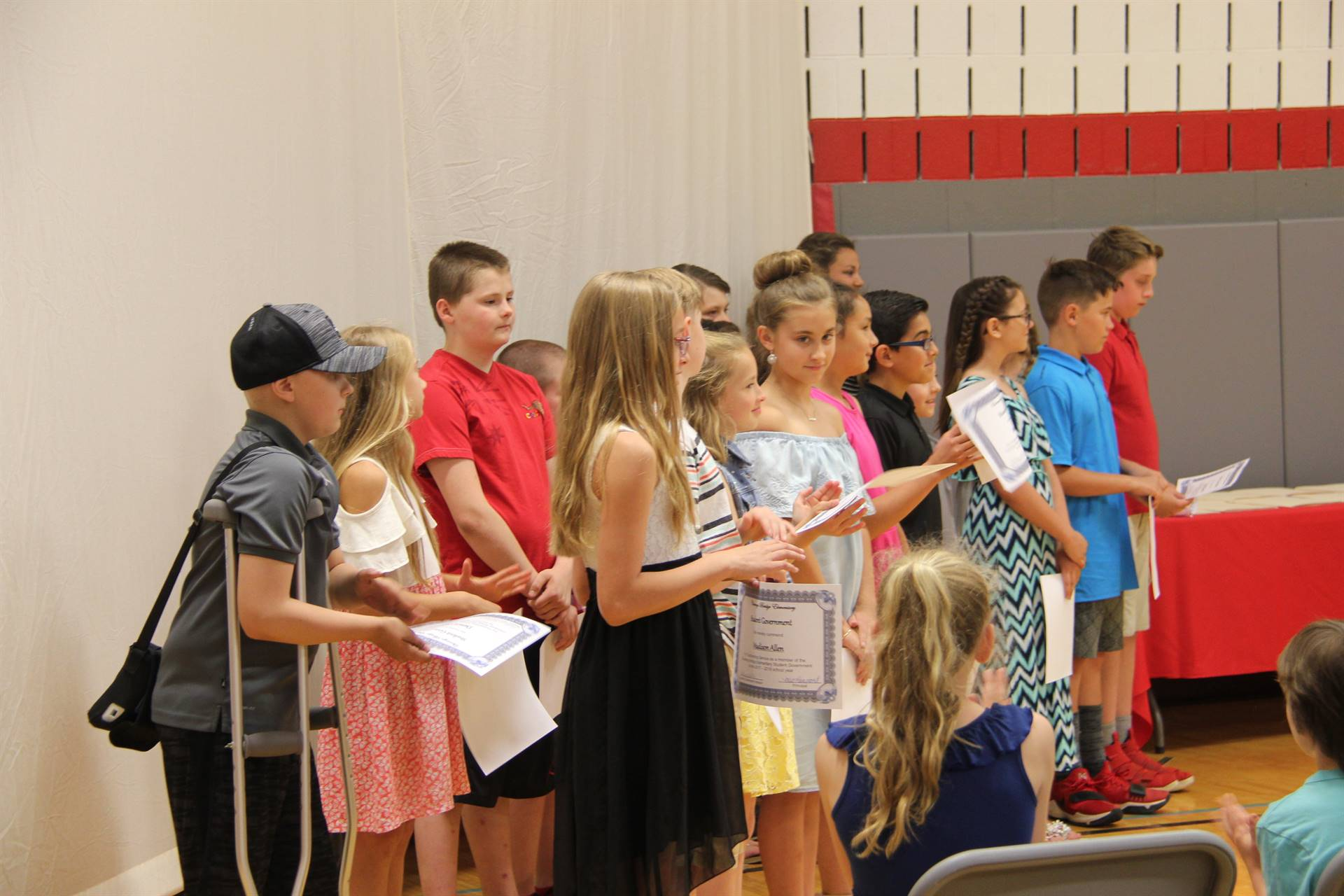 Fifth Grade Moving Up Ceremony 29