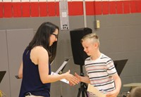 Fifth Grade Moving Up Ceremony 16